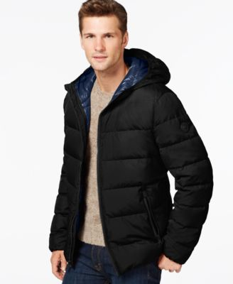 Lacoste Lightweight Packable Hooded Down Jacket - Coats & Jackets ...