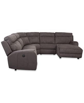Torie 5-Piece Sectional with 2 Power Motion Recliners  sc 1 st  Macyu0027s & Torie 5-Piece Sectional with 2 Power Motion Recliners - Furniture ... islam-shia.org