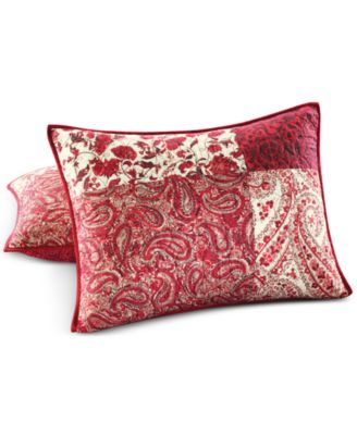 Martha Stewart Collection Paisley Blocks Standard Sham