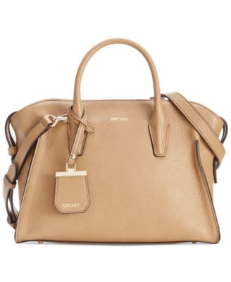 DKNY Chelsea Leather Satchel - Handbags & Accessories - Macy's