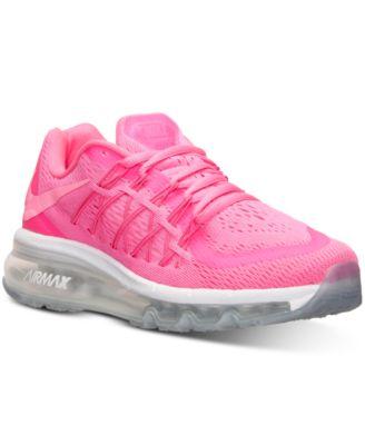 Nike Filles Air Max 2015 Des Chaussures De Course À Partir De La Ligne Darrivée