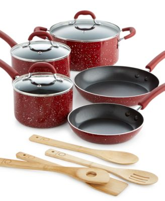 Martha Stewart Collection 12-Pc. Speckle Cookware Set, Only at Macy's