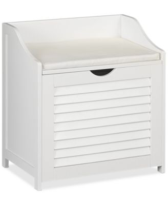 Honey Can Do Double Laundry Sorter Folding Table Storage