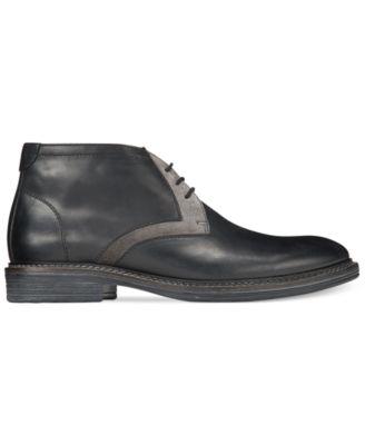 Alfani Knight Mixed Media Chukka Boots, Only at Macy's - Shoes ...