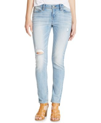 American Rag Ripped Skinny Jeans, Light Wash, Only at Macy's ...