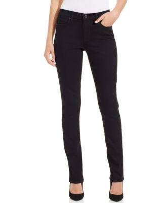 DKNY Jeans Soho Skinny Jeans, Black Wash - Jeans - Women - Macy's