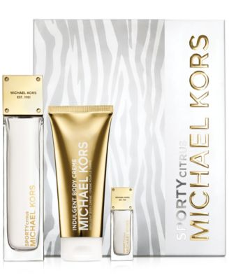 Michael Kors Sporty Citrus Gift Set - Shop All Brands - Beauty ...