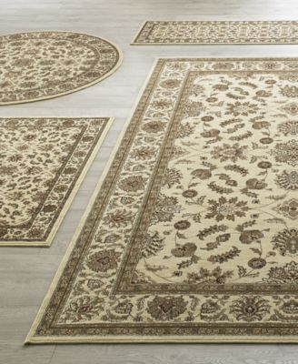Kenneth Mink Vienna Meshed Ivory 5 Pc Rug Set