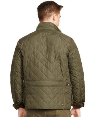 Polo Ralph Lauren Quilted Bomber Jacket - Coats & Jackets - Men ... : quilted ralph lauren jacket - Adamdwight.com