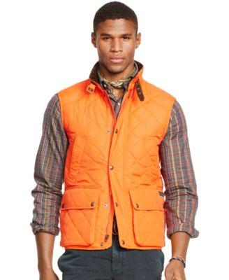 Polo Ralph Lauren Quilted Vest - Coats & Jackets - Men - Macy's : polo quilted vest - Adamdwight.com