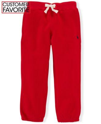 Ralph Lauren Little Boys' Polo Fleece Pant