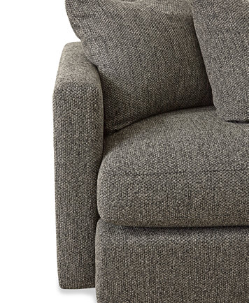 Clinton Fabric 5 Piece Chaise Sectional Furniture Macy S