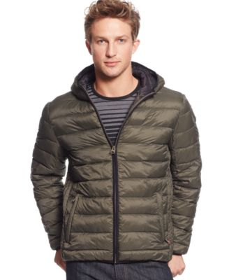 Levi's® Lightweight Packable Puffer Hoodie Jacket - Coats ...