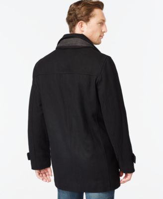 Calvin Klein Big and Tall Melton Classic Car Coat - Coats ...