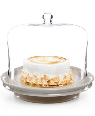 Martha Stewart Collection Low Footed Cake Plate, Only at Macy's