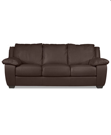 Italsofa Leather Sofa Bed