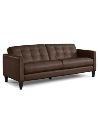 Myars Leather Sofa, a Macy's Exclusive Style Furniture Macy's