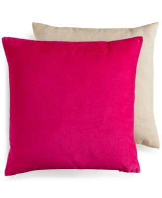 "bluebellgray Abstract 18"" Square Velvet Decorative Pillow"