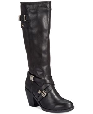 Rialto Madyson Tall Wide Calf Boots Women's Shoes