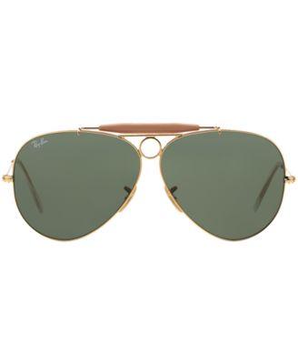 Ray-Ban Sunglasses, RAY-BAN RB3138 58 SHOOTER