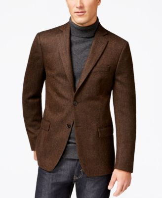 Lauren Ralph Lauren Light Brown Neat Sport Coat - Blazers & Sport