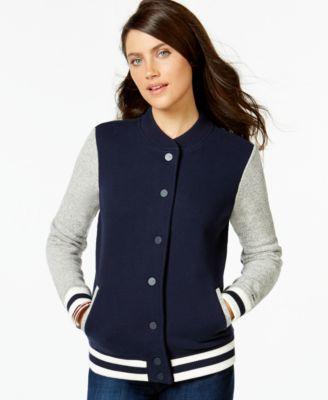 Tommy hilfiger jacket womens blue