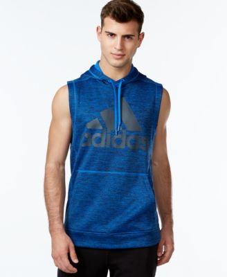 adidas Men's Hero Ball Short-Sleeve Pullover Hoodie - Hoodies ...