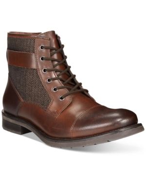 Bar Iii Devin Cap-Toe Utility Boots, Only at Macy's Men's Shoes