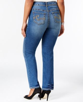 American Rag Plus Size Slim Bootcut Jeans, Alice Wash - Jeans ...