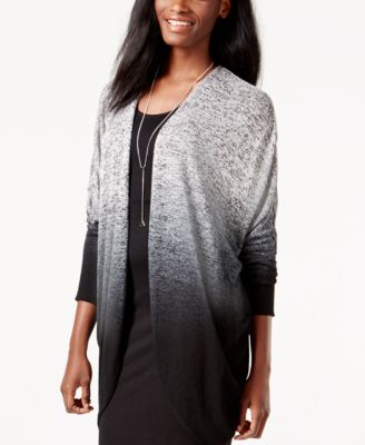 Material Girl Juniors' Ombre Duster Sweater, Only at Macy's - Tops ...