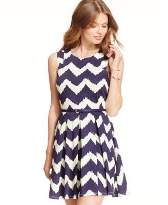 Speechless Juniors' Lace Skater Tank Dress - Dresses - Juniors ...