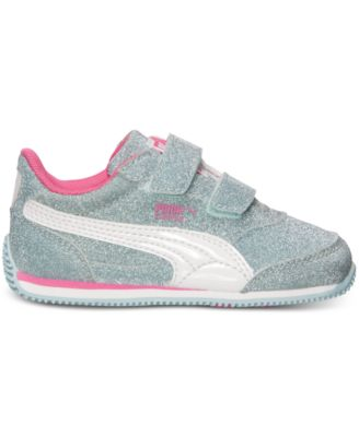 Puma Toddler Girls' Steeple Glitz AOG V Casual Sneakers from Finish Line