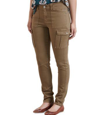 Violeta by Mango Plus Size Skinny Cargo Pants - Pants - Plus Sizes ...