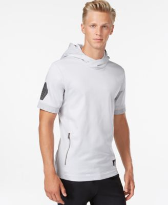adidas Hero Ball Short-Sleeve Pullover Hoodie - Hoodies ...