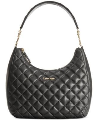 Calvin Klein Quilted Chain Backpack - Handbags & Accessories - Macy's : calvin klein quilted handbag - Adamdwight.com