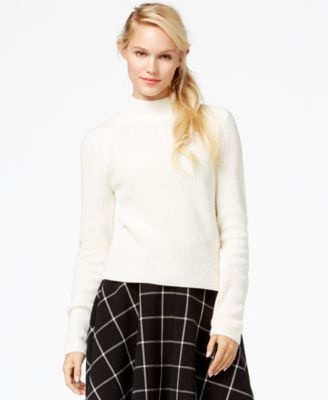 Maison Jules Mock Turtleneck Sweater, Only at Macy's - Sweaters ...