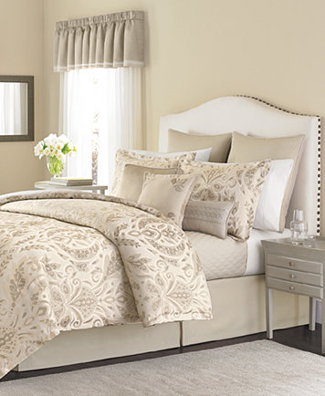 CLOSEOUT Martha Stewart Collection Hanover Crest 22 Piece King Comforter Set
