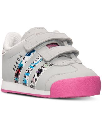 adidas Toddler Girls' Samoa Casual Sneakers from.