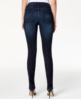 DKNY Jeans Soho Skinny Jeans, Prestige Navy Wash - Jeans - Women ...