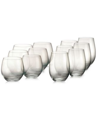 Marquis By Waterford Vintage Set of 12 Stemless Wine Glasses