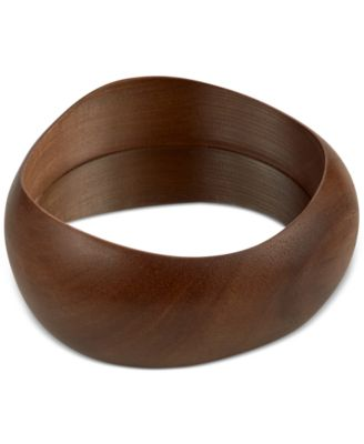 Namb® Wood & Stainless Steel Wine Coaster, Only at Macy's