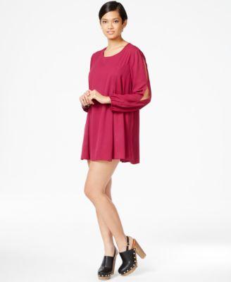 Bar iii long sleeve dress
