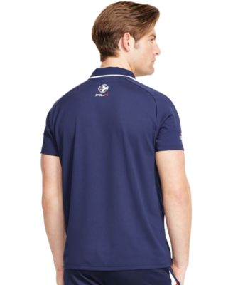Polo Ralph Lauren US Open RLX Banner-Stripe Polo Shirt