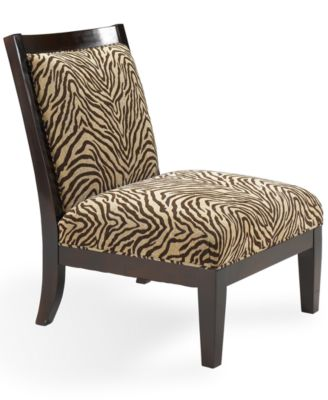 Delrey Living Room Chair Armless Accent