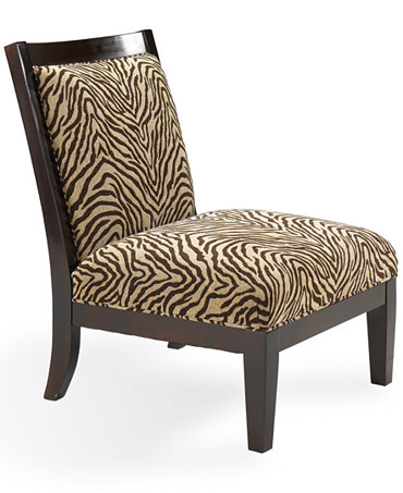 Delrey Living Room Chair Armless Accent Chair Furniture Macy 39 S