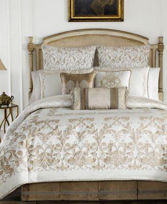 croscill monroe ivory california king comforter set