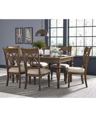 Oak Harbor 7 Pc. Dining Set (Table U0026 6 Side Chairs)