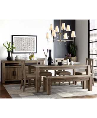 Canyon Dining Table - Furniture - Macy\'s