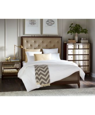 Gotham Mirrored Bedroom Furniture Collection