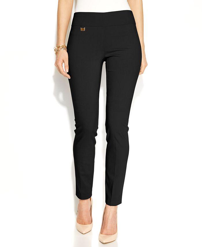 Alfani - Tummy-Control Skinny Pants